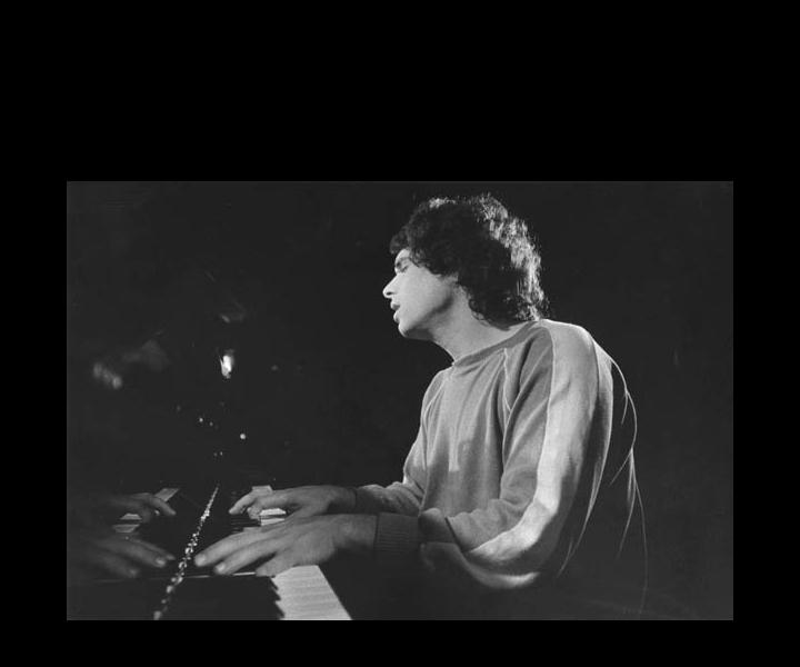 Stu Goldberg solo piano concert<br> Stockholm 1979