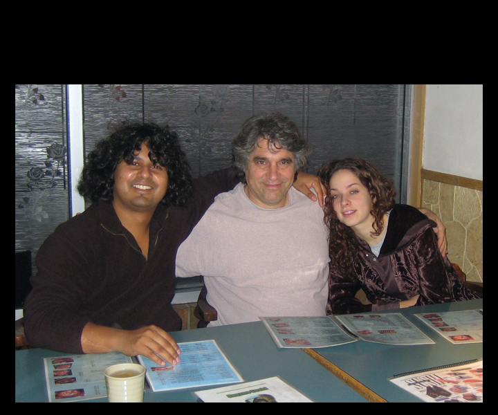 "Cassius Khan, Stu Goldberg, Jennifer Lauren<br> On ""Dark Clouds"" tour 2006"