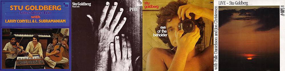 Stu Goldberg MPS Jazz Albums