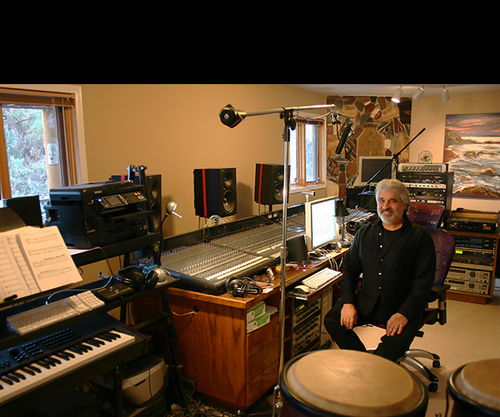 Stu Goldberg in Studio