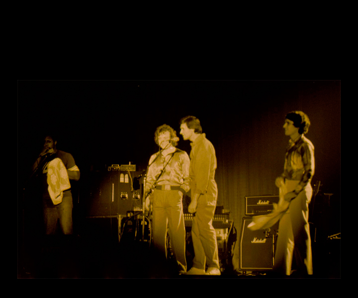 Billy Cobham, Jack Bruce (RIP), John McLaughlin, Stu Goldberg<br> European tour - October 1979