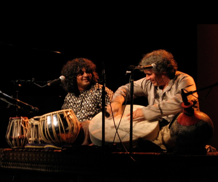 "Cassius Khan, Stu Goldberg in concert<br> ""Dark Clouds"" tour 2006"