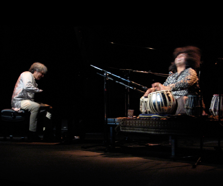 "Stu Goldberg, Cassius Khan in concert<br> ""Dark Clouds"" tour 2006"