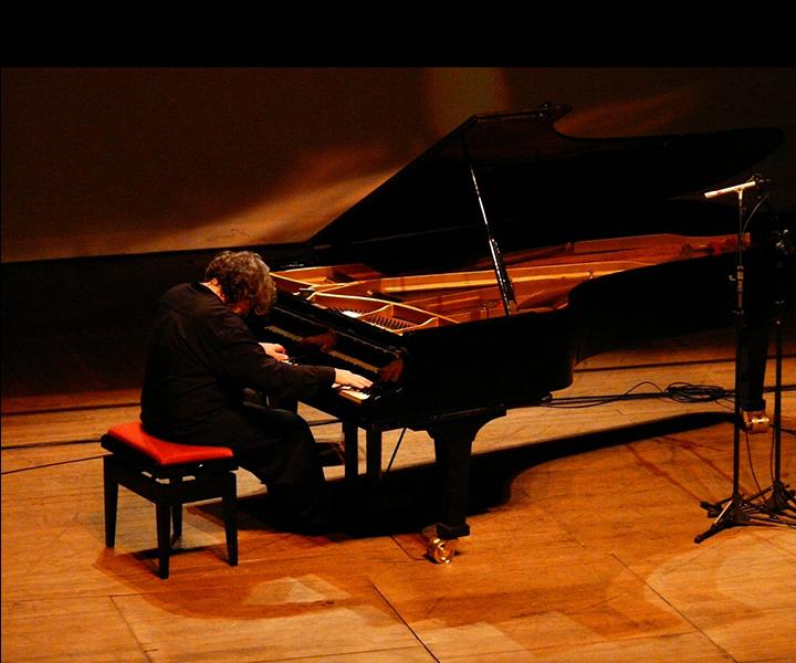 Stu Goldberg solo piano concert<br> Curitaba Jazz Festival 2010